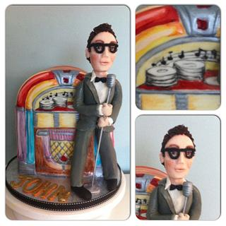 Buddy Holly cake - Cake by Nicky Gunn
