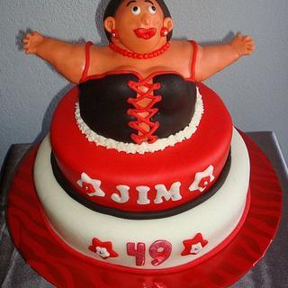Sexy Lady Cake
