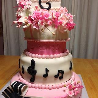 La Quinceañera Cake - Cake by Maggie Rosario