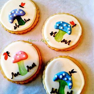 Woodland Fairy Cookies