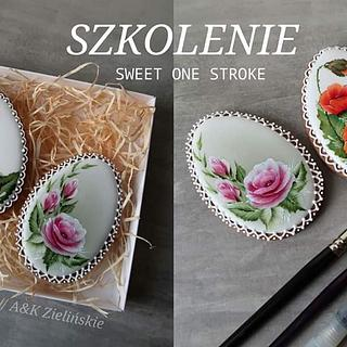 One stroke cookies by Kremowe cuda