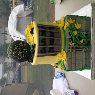 Cancer convicts ( relay for life team cake)