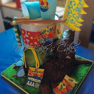 Festival Cake - Cake by Mr Baker's Cakes
