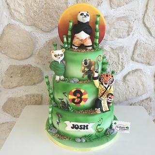 Kung-fu Panda Cake - Cake by Alexandra Smadja (Ma Boîte à Gâteau)