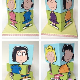 Rotating Peanuts Cake - Cake by Irina - Ennas' Cake Design