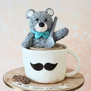 Teddy in a cup!!!