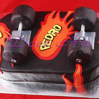 Skateboard cake - Cake by Magda Martins - Doce Art