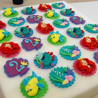 The Little Mermaid Toppers