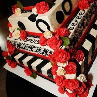 Different type of wedding cake!