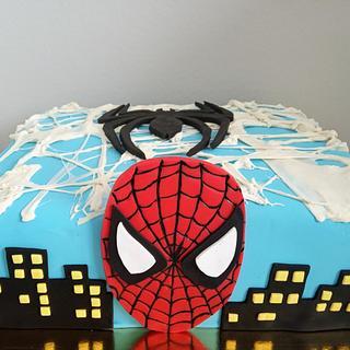 Spider Man cake - Cake by LanaLand