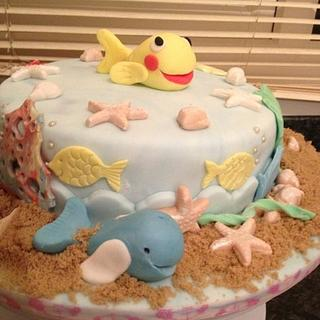 Under the sea cake (Fish called 'MiniMini')