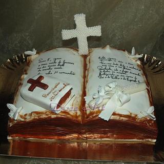 First communion & Baptism cake
