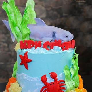 Under the sea cake :)