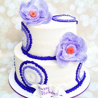 Amethyst Cake