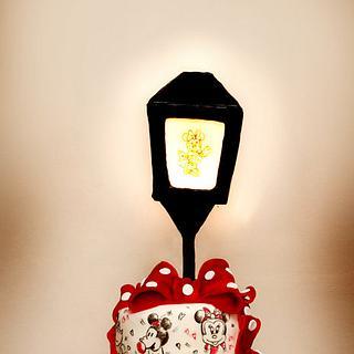 Minnie's Magical Lantern Cake