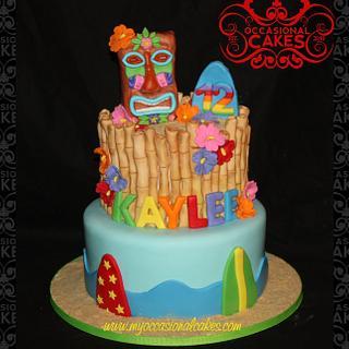tiki - Cake by Occasional Cakes