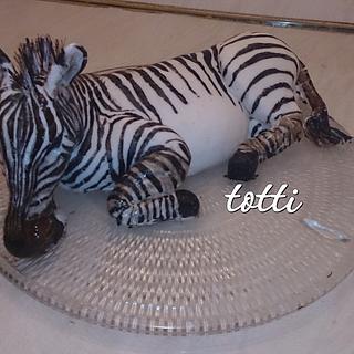 zebra cake - Cake by totti