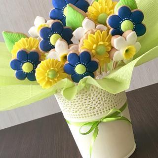 Bouquet 🍃 - Cake by sansil (Silviya Mihailova)