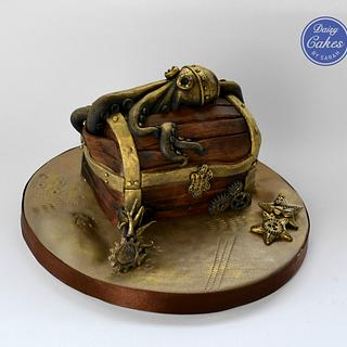 Sugar Pirate Collaboration - Steampunk Chest