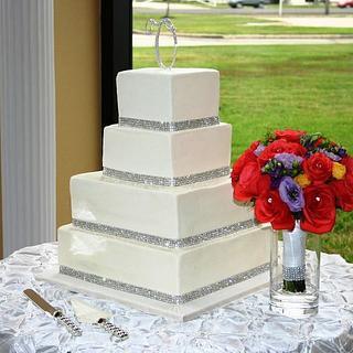 Elegant, bling wedding!