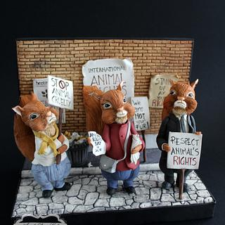 Stand up for your rights!-Animal Rights Collaboration-