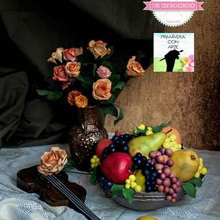 "Still life of Alexei Antonov: ""Primavera con arte"" Spring art - Cake by Carmen"