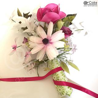 WP bouquet  - Cake by maria antonietta motta - arcake -