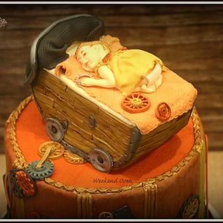 The Innocence - Cake done for Steampunk Collaboration
