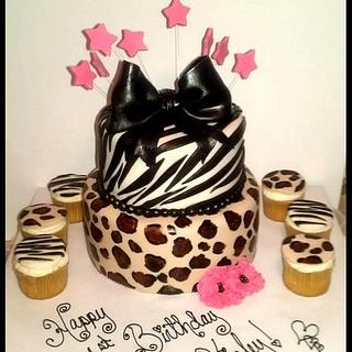 Animal Print 1st Birthday