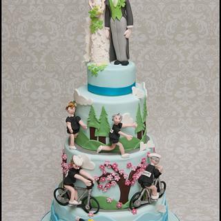Triathlon Wedding