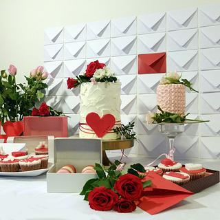 Romantic sweet valentine