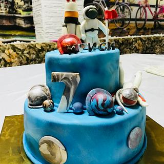 Cake space - Cake by MontiCakes&Catering