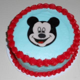 Mickey Mouse Smash Cake - Cake by YoureBakingMeCrazy
