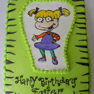 New School, Angelica! - Cake by Donna Tokazowski- Cake Hatteras, Hatteras N.C.