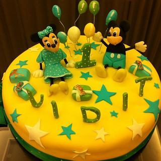 Strange Mickey Minnie Mouse Cake 49 Cakes Cakesdecor Funny Birthday Cards Online Alyptdamsfinfo