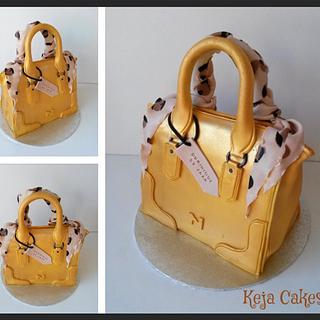 Nathan handbag cake