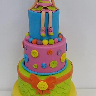 Lalaloopsy Fondant Cake