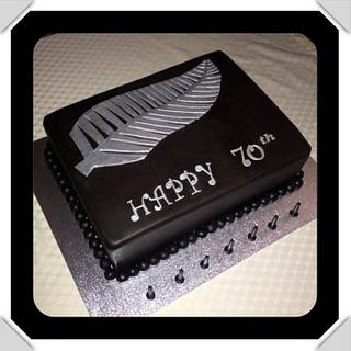 all blacks cake