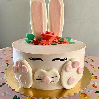 Bunny cake  - Cake by Loreta
