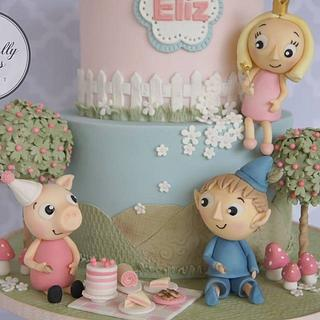 Peppa's picnic party
