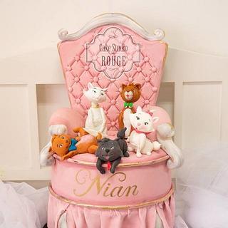 Aristocats cake