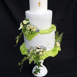 Confirmation cake  - Cake by Steffs Backstube Stefanie Hauk