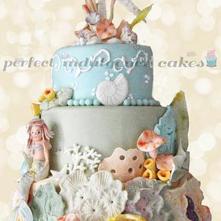 Mermaid Under the Sea - Cake by Maria Cazarez Cakes and Sugar Art