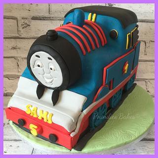 Train cake - Cake by Poundies Bakes