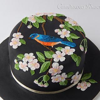 In a spring garden - Cake by Anastasia