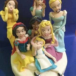 Funny princess 😜😜 - Cake by Barbara Casula