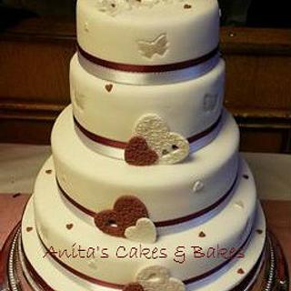 My 2nd wedding cake