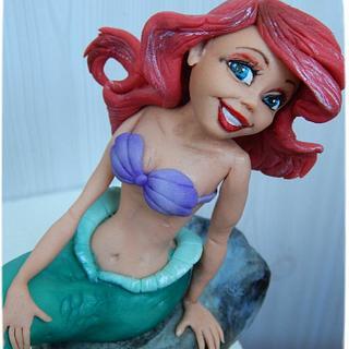 Sugar sculpture of the Mermaid