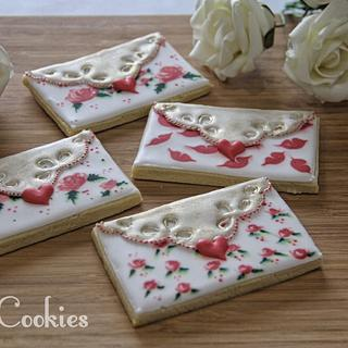 Love letters  - Cake by Olivera Vlah