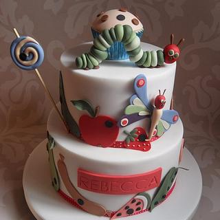 The Very Hungry Caterpillar. - Cake by Dulcie Blue Bakery ~ Chris